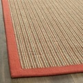 Dream Natural Fiber Rust Sisal Rug (5' x 8')