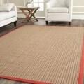 Safavieh Dream Natural Fiber Rust Sisal Rug (5' x 7' 6)