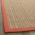 Safavieh Dream Natural Fiber Rust Sisal Rug (9' x 12')