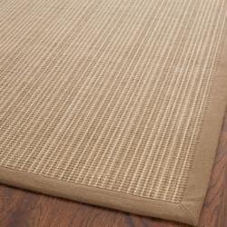 Dream Natural Fiber Beige Sisal Rug (5' x 7' 6)