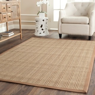 Dream Natural Fiber Beige Sisal Rug (5' x 7' 6)