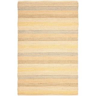 Safavieh Hand-knotted Vegetable Dye Jubilee Beige Hemp Rug (7' 6 x 9' 6)
