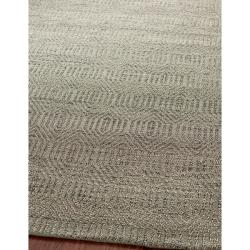 Hand-woven South Hampton Southwest Grey Rug (7' 6 x 9' 6)