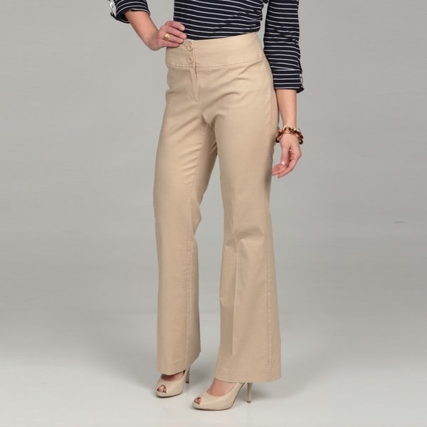 Womens Tan Dress Pants