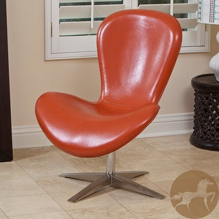 Christopher Knight Home Modern Orange PU Chair