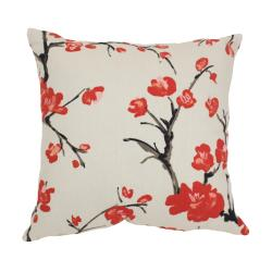 Pillow Perfect 'Flowering Branch' Floral Throw Pillow