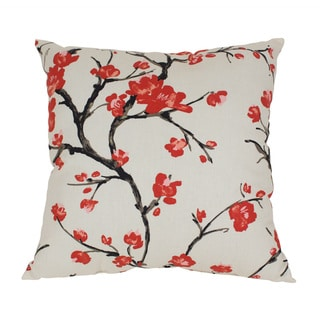 Pillow Perfect 'Flowering Branch' Throw Pillow