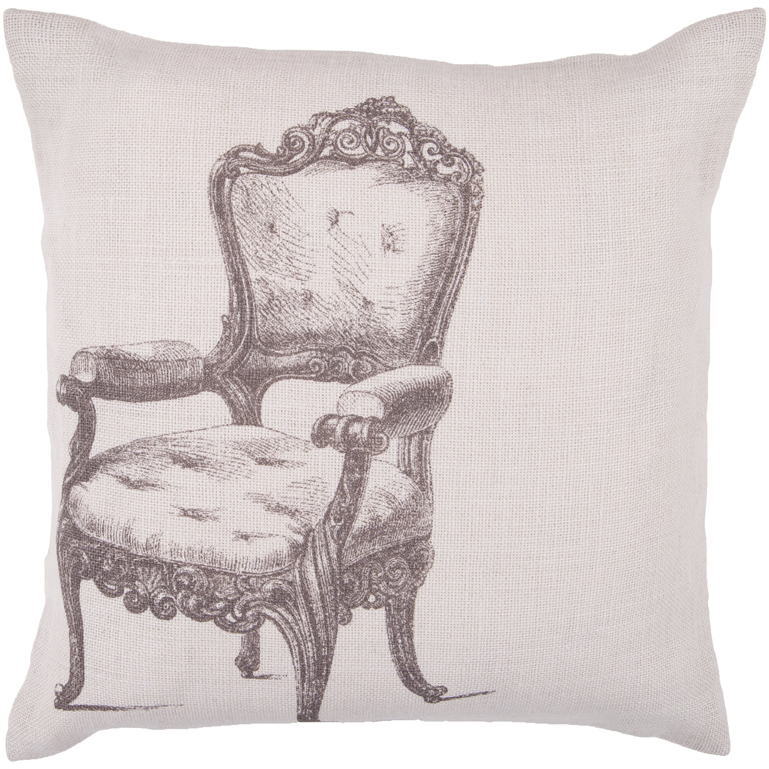 Zang 22-inch Down Decorative Pillow