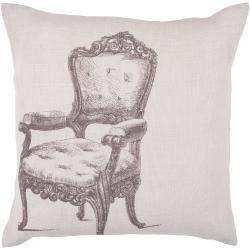 Zang 22-inch Down Decorative Pillow