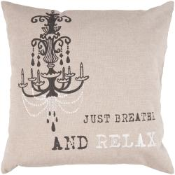 Wain 18-inch Poly Decorative Pillow