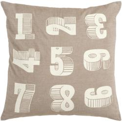 Crass 22-inch Down Decorative Pillow