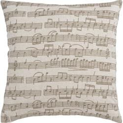 Stoic 18-inch Down Decorative Pillow