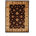 Hand-Tufted Tempest Dark Brown/Ivory Wool Area Rug (8' x 11')