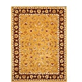 Hand-Tufted Tempest Gold/Brown Area Rug (8' x 11')