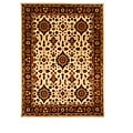 Hand-Tufted Oriental Tempest Ivory/Brown Area Rug (8' x 11')