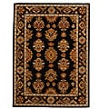 Hand-Tufted Tempest Black/Tan Area Rug (8' x 11')