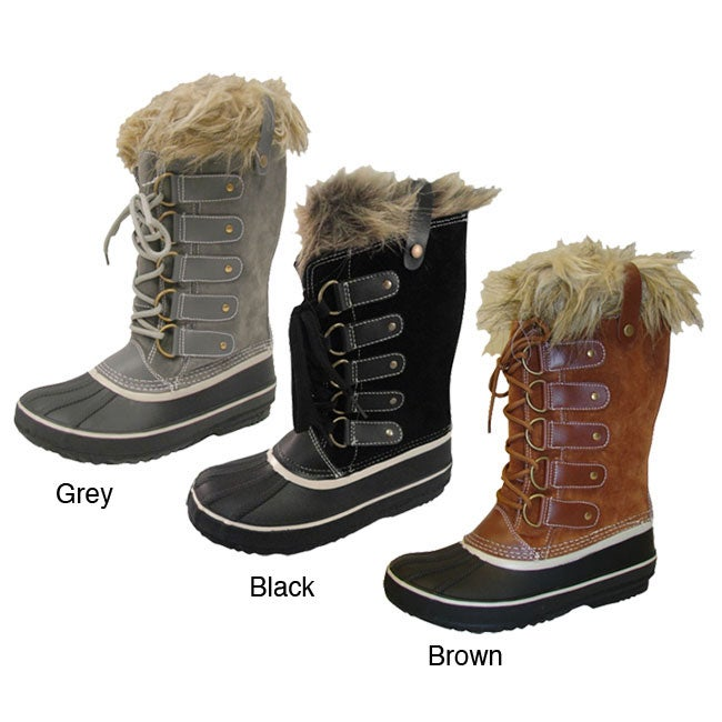 bucco s all weather fleece lined boots overstock