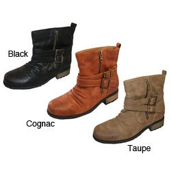 Bucco Women's 'Lenore' Ankle-high Booties