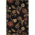 Hand-Tufted Wool Floral Rug (8' x 11')
