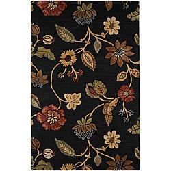 Hand-tufted Wool Rug (5' x 8')