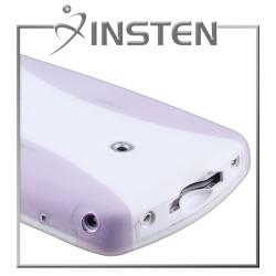 INSTEN White Silicone Case compatible with LeapFrog LeapPad