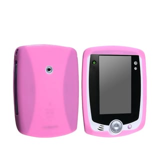 INSTEN Pink Silicone Case compatible with LeapFrog LeapPad
