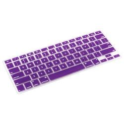 Purple Silicone Keyboard Skin Shield for Apple MacBook Pro