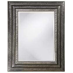 Asher Nickel Wood Fillagree Mirror