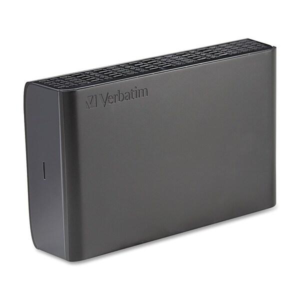 Verbatim 2TB Store 'n' Save Desktop Hard Drive, USB 3.0/Firewire 800