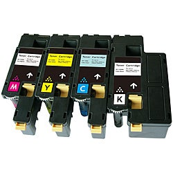 Dell Compatible 1250 CYMK Toner Cartridges (Pack of 4)