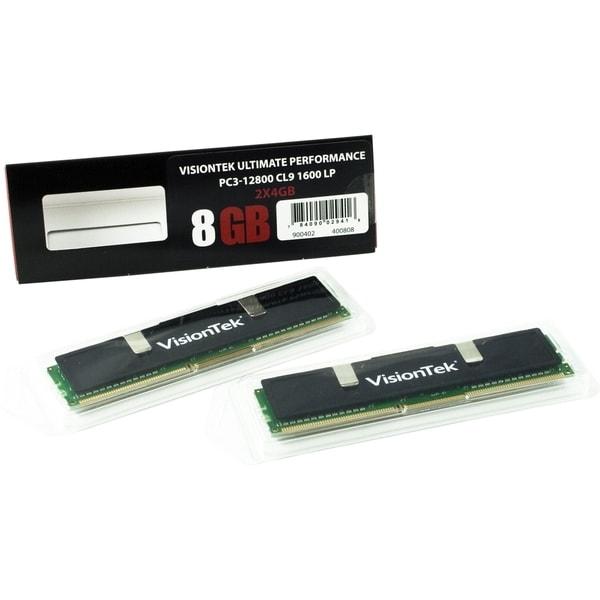 Visiontek 2 x 4GB PC3-12800 DDR3 1600MHz 240-pin DIMM Memory Module