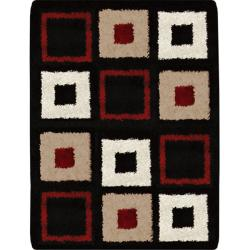 Synergy Contemporary Shagy Rug (6'6 x 9'8)