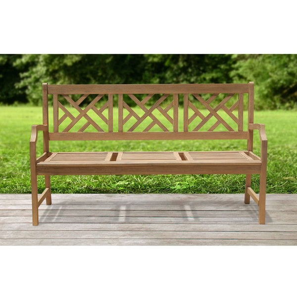Renaissance Outdoor Hardwood Bench