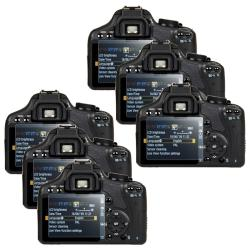 Screen Protector for Canon SLR EOS 500D/ Rebel T1i (Pack of 6)