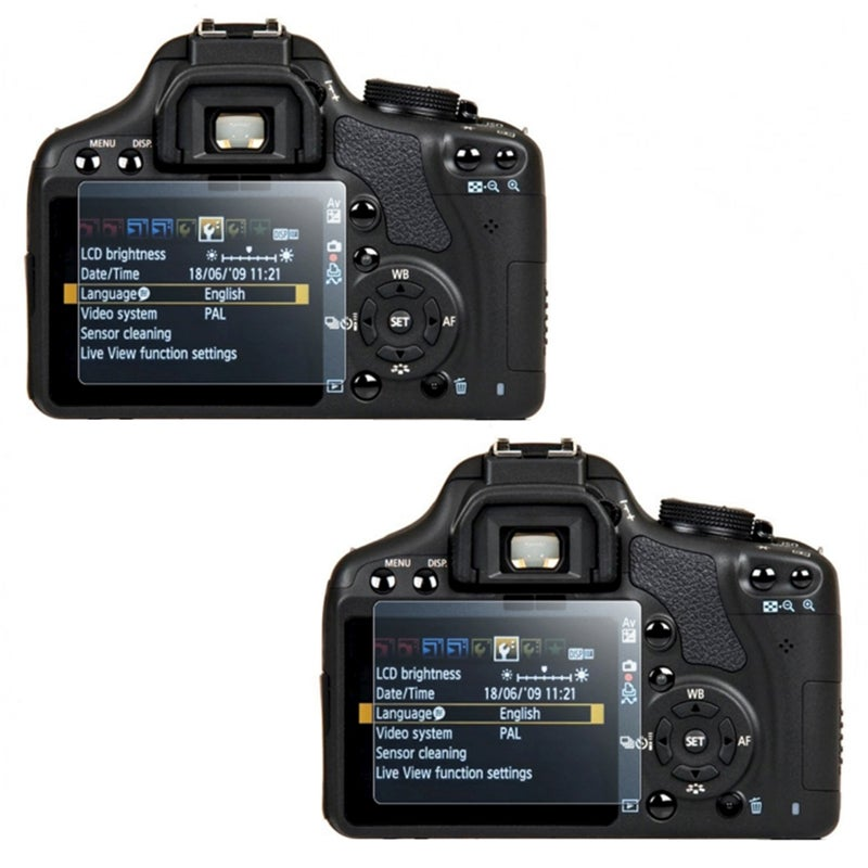 Screen Protector for Canon SLR EOS 500D/ Rebel T1i (Pack of 2)