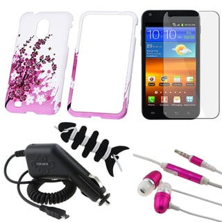 BasAcc Case/ LCD Protector/ Charger/ Headset for Samsung Epic Touch 4G