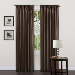 Lush Decor Chocolate Sienna Curtain Panels (Set of 2)