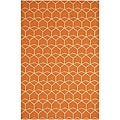 "Hand-Hooked Indoor/Outdoor Rug (3' 6"" x 5' 6"")"
