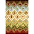 Hand-Hooked Transitional Rug (2' x 3')
