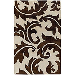 "Hand-Tufted Wool Area Rug (9' 6"" x 13' 6"")"