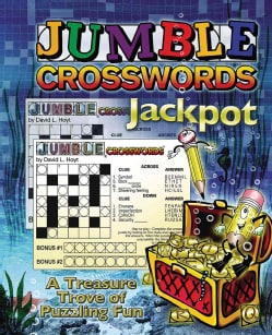 Jumble Crossword Jackpot: A Treasure Trove of Puzzling Fun (Paperback)