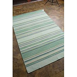 Woven Wool Flat Rug (4' x 6')