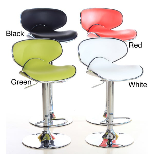 K2 Modern Adjustable Barstools (Set of 2)