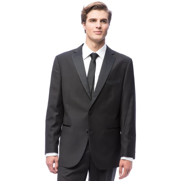 Men's Black 2-button Tuxedo