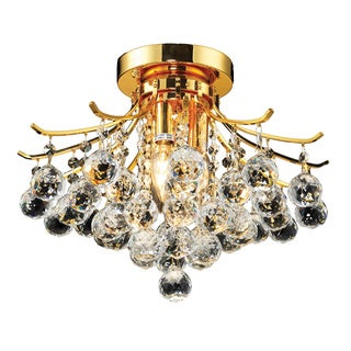 Christopher Knight Home 4-light Goldtone Flush-Mount Chandelier