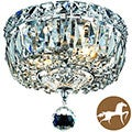 Christopher Knight Home Chrome 2-Light Chandelier