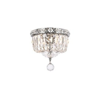 Somette Chrome 2-Light Chandelier