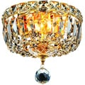 Christopher Knight Home Gold 2-Light Chandelier