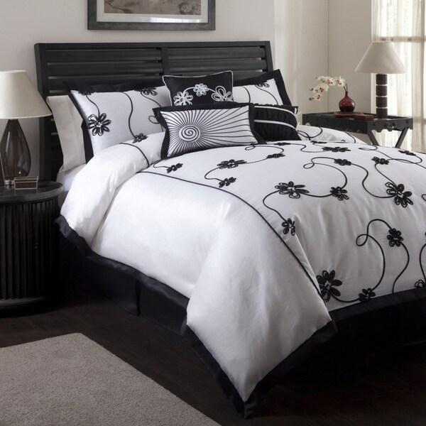 Lush Decor 'Milione Fiori' 7-piece Full-size Comforter Set