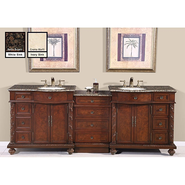 Double Sink Bathroom Vanity Free Shipping Today Overstock Com